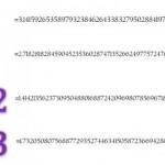 Ejemplos de números irracionales