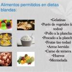 Ejemplos de dietas blandas