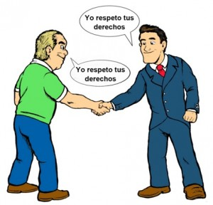 Ejemplos de respeto