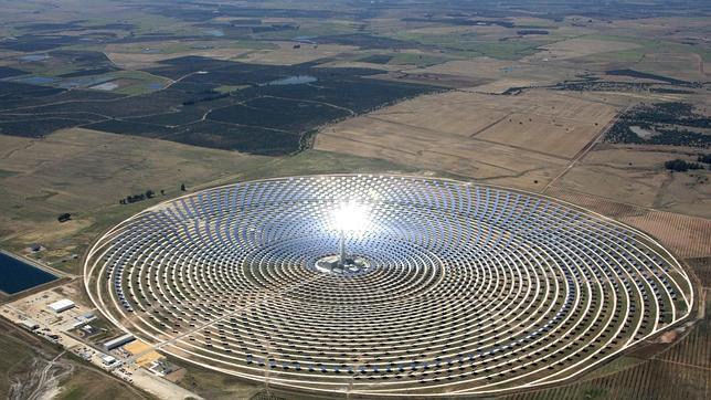 Planta solar andaluza Gemasolar
