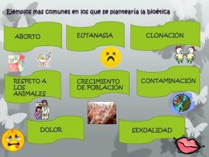 Ejemplos de bioetica