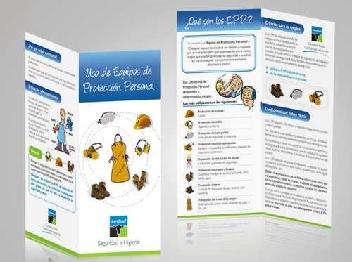 Ejemplos de folleto