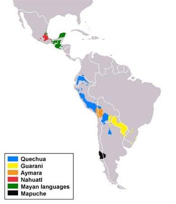 Ejemplos de lenguas amerindias