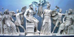 ejemplos de Dioses griegos