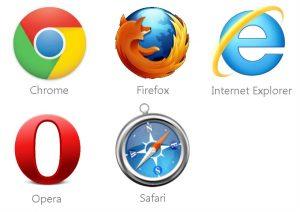 ejemplos de navegadores web