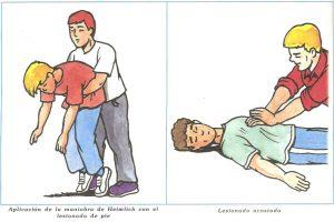 Ejemplos de técnicas en primeros Auxilios