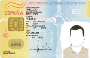 Ejemplos de Documentos de Identidad