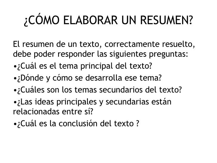 Ejemplos de resumen for Resumen del libro quimica en la cocina