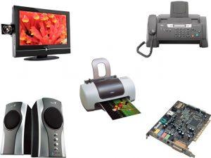ejemplos de dispositivos de salida