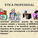 Ejemplos de Ética profesional