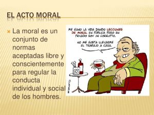 Ejemplos de Moral