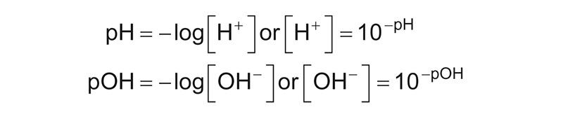 Fórmula del pH